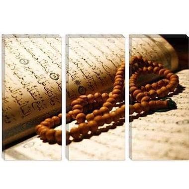 iCanvas Islamic Koran and Prayer Beads Photographic Print on Canvas; 18'' H x 26'' W x 1.5'' D
