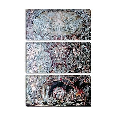 iCanvas 'Last Judgement' by William Blake Painting Print on Canvas; 18'' H x 12'' W x 0.75'' D