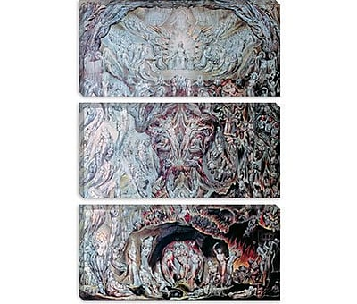 iCanvas 'Last Judgement' by William Blake Painting Print on Canvas; 40'' H x 26'' W x 1.5'' D
