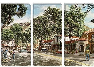 iCanvas 'Laguna Beach' by Stanton Manolakas Painting Print on Canvas; 18'' H x 26'' W x 0.75'' D