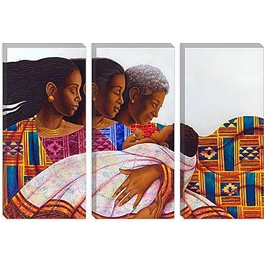 iCanvas 'Circle of Joy' by Keith Mallett Graphic Art on Canvas; 40'' H x 60'' W x 1.5'' D