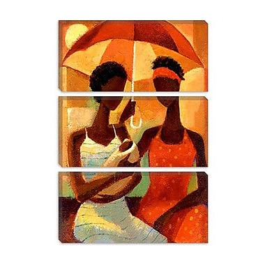 iCanvas 'In the Shade' by Keith Mallett Painting Print on Canvas; 40'' H x 26'' W x 0.75'' D