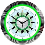 Neonetics 15'' Golf Neon Clock