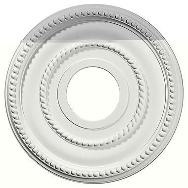 Ekena Millwork Valeriano 12.13''H x 12.13''W x 0.75''D Ceiling Medallion