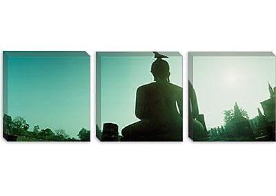 iCanvas Panoramic Sukhothai Historical Park, Sukhothai, Thailand Photographic Print on Canvas
