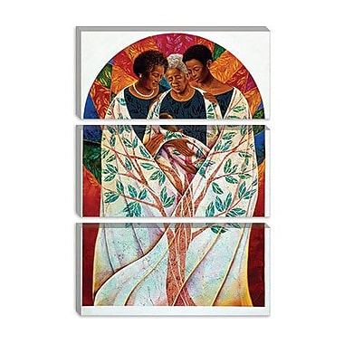 iCanvas 'Family Tree' by Keith Mallett Graphic Art on Canvas; 40'' H x 26'' W x 1.5'' D