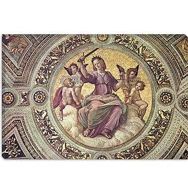 iCanvas 'Stanza Della Segnatura' by Raphael Graphic Art on Wrapped Canvas; 8'' H x 12'' W x 0.75'' D