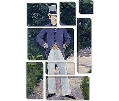 iCanvas 'Portrait of Monsieur Brun' by Edouard Manet Painting Print on Canvas
