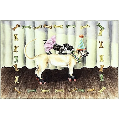 iCanvas ''The Performers (Dogs)'' by Charlsie Kelly Graphic Art on Wrapped Canvas