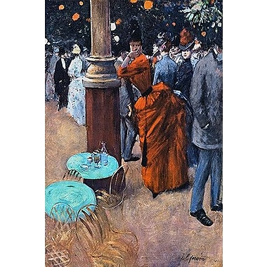iCanvas Fine Art 'The Public Garden' by Jean-Louis Forain Painting Print on Wrapped Canvas