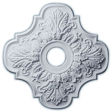 Ekena Millwork Peralta 17.75''H x 17.75''W x 1''D Ceiling Medallion