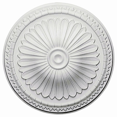 Ekena Millwork Alexa 15''H x 15''W x 1.75''D Ceiling Medallion