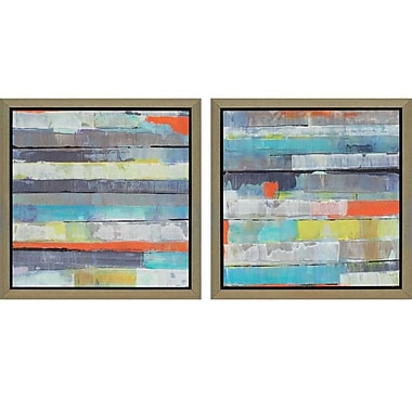 Paragon Metro by Fuchs 2 Piece Framed Painting Print Set (Set of 2)