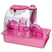 Penn Plax Housing Unit Small Animal Modular Habitat; Pink