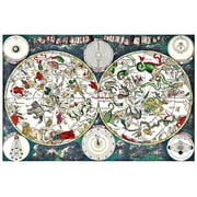 iCanvas Antique Maps ''Star- Zodiac Chart'' by Frederik Wit Graphic Art on Wrapped Canvas