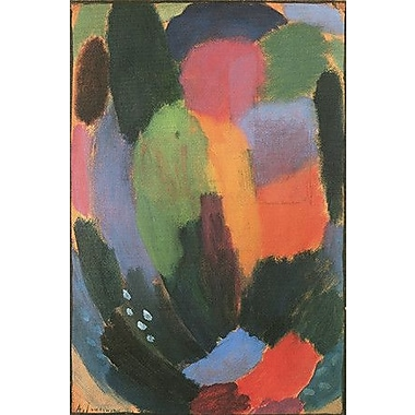 iCanvas 'Song' by Alexej Von Jawlensky Painting Print on Wrapped Canvas; 40'' H x 26'' W x 1.5'' D