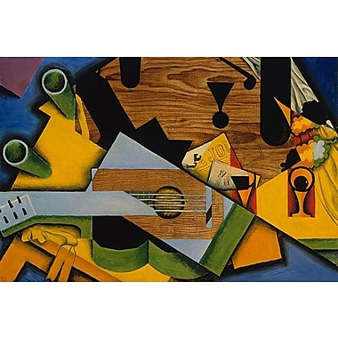 iCanvas 'Still Life w/ a Guitar, 1913' by Juan Gris Painting Print on Wrapped Canvas