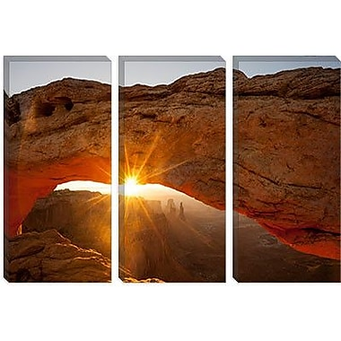 iCanvas 'Mesa Arch Beauty' by Dan Ballard Photographic Print on Canvas; 18'' H x 26'' W x 0.75'' D