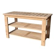 D-Art Collection D-Art Collection Wood Storage Bench