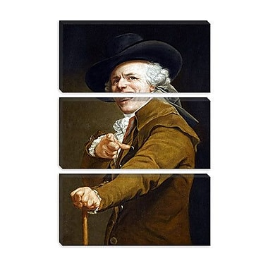 iCanvas Self-Portrait' by Joseph Ducreux Painting Print on Wrapped Canvas; 26'' H x 18'' W x 1.5'' D