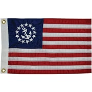 Taylor Made Products Sewn U.S. Yacht Traditional Flag; 16'' H x 24'' W