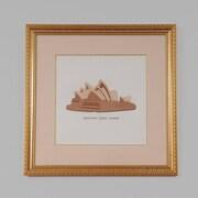 Old Modern Handicrafts Sydney Australia Opera House by Billy Jacobs Framed Graphic Art