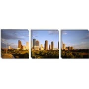 iCanvas Panoramic 'Skyscrapers Against Cloudy Sky, Houston, Texas' Photographic Print on Canvas