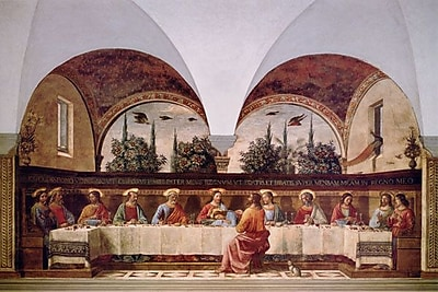 iCanvas 'The Last Supper' by Domenico Ghirlandaio Painting Print on Wrapped Canvas