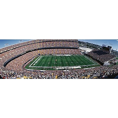 iCanvas Panoramic Sold Out Crowd at Mile High Stadium Photographic Print on Wrapped Canvas