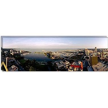iCanvas Panoramic Waterfront at Tampa Bay, Florida Photographic Print on Canvas