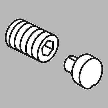 Delta Addison Roman Tub Handle Button and Set Screw; Chrome