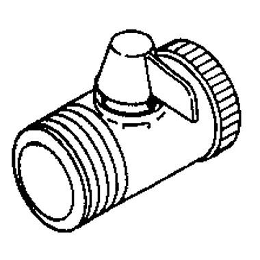 Delta Volume Control Shower Faucet Trim for Shower Arm; Chrome