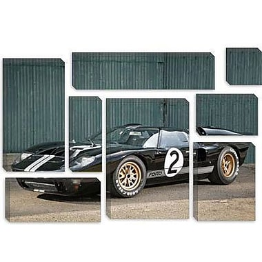 iCanvas Cars and Motorcycles Ford GT40 Le Mans Race 1966 Photographic Print on Canvas