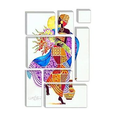 iCanvas 'Joy' Art by Keith Mallett Graphic Art on Canvas; 40'' H x 26'' W x 0.75'' D