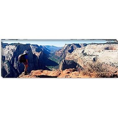 iCanvas Panoramic Zion National Park, Utah Photographic Print on Canvas; 20'' H x 60'' W x 1.5'' D