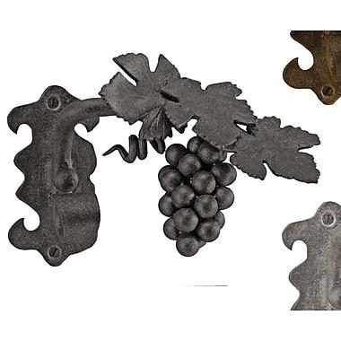 Menagerie Casa Artistica Grape Vine Curtain Holdback (Set of 2); Black