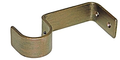 Menagerie Casa Outdoor Simple Wall Curtain Bracket; Gold