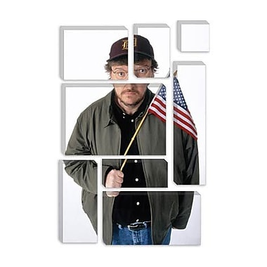 iCanvas Political Michael Moore Photographic Print on Canvas; 60'' H x 40'' W x 1.5'' D
