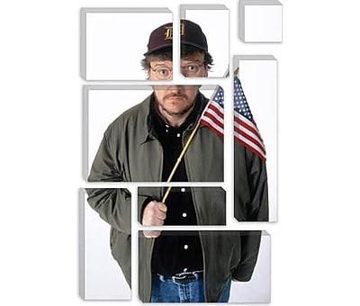 iCanvas Political Michael Moore Photographic Print on Canvas; 40'' H x 26'' W x 0.75'' D