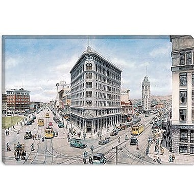 iCanvas 'Oakland' by Stanton Manolakas Painting Print on Canvas; 12'' H x 18'' W x 0.75'' D