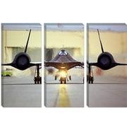 iCanvas Astronomy and Space ''Lockheed SR-71 Blackbird'' Photographic Print on Canvas