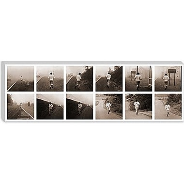 iCanvas Muhammad Ali in Training, Jogging in Deerpark, PA Photographic Print on Canvas