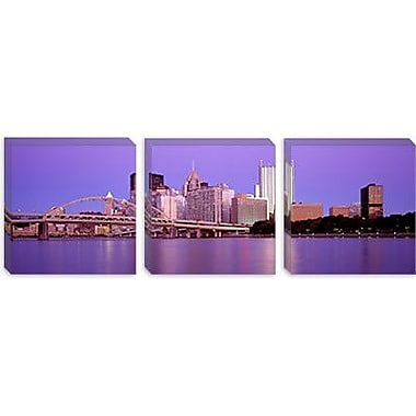 iCanvas Panoramic Allegheny River Pittsburgh PA Photographic Print on Canvas