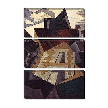 iCanvas 'Landschaft Bei Beaulieu' by Juan Gris Painting Print on Canvas; 12'' H x 8'' W x 0.75'' D
