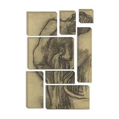 iCanvas 'La Toilette apres le Bain' by Edgar Degas Graphic Art on Canvas; 12'' H x 8'' W x 0.75'' D