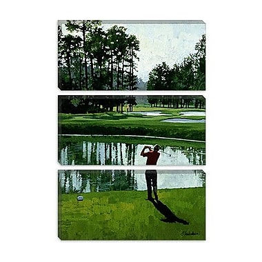 iCanvas 'Golf Course 9' by William Vanderdasson Painting Print on Canvas; 26'' H x 18'' W x 1.5'' D