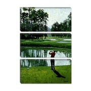 iCanvas 'Golf Course 9' by William Vanderdasson Painting Print on Canvas; 18'' H x 12'' W x 1.5'' D