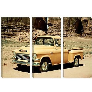 iCanvas Cars and Motorcycles Gmc 100 Series 1-2-ton Pickup 1957 Photographic Print on Canvas