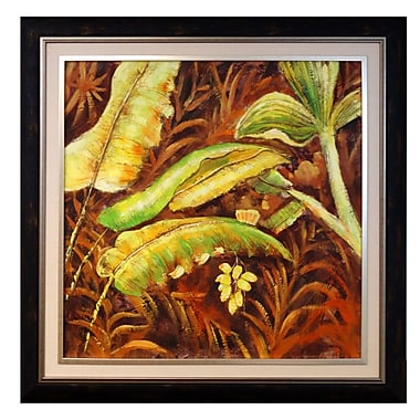Acura Rugs Green Artisia Framed Painting