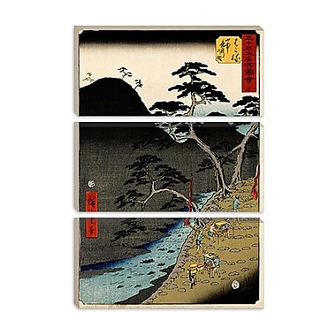 iCanvas 'Hakone' by Utagawa Hiroshige Painting Print on Canvas; 60'' H x 40'' W x 1.5'' D